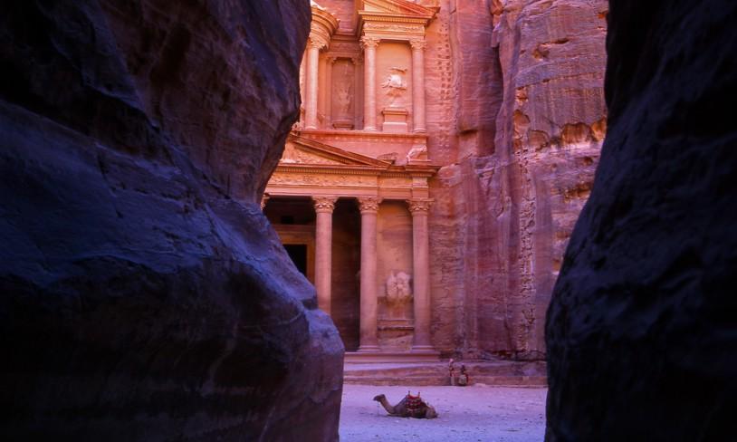 16. Fullstendig bergtatt - Petra, Jordan