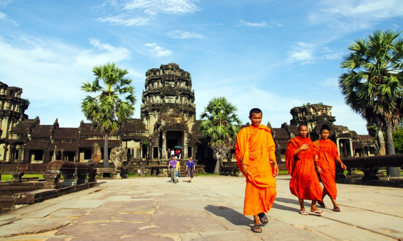 7. Tidenes tempel - Angkor, Kambodsja