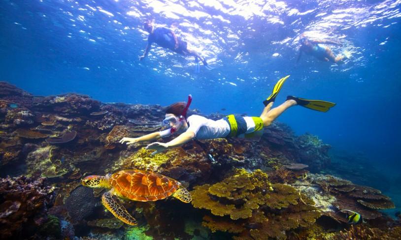 5. Great Barrier Reef - Australia