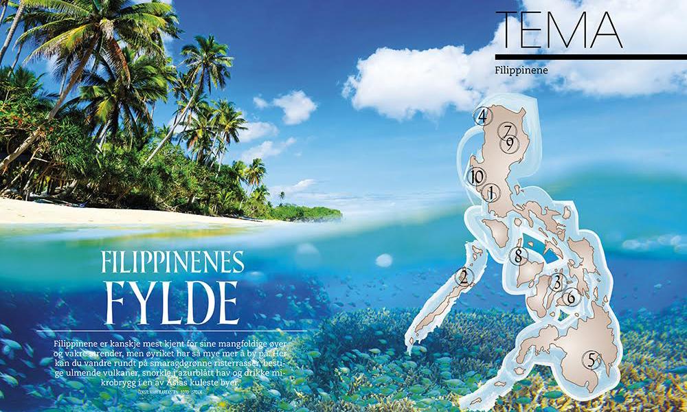 På TEMA-sidene tipser vi blant annet om snorkleparadiset El Nido, ølrevolusjonen i Manila og sjokoladetoppene på Bohol – og masse, masse mer! Foto: iStock