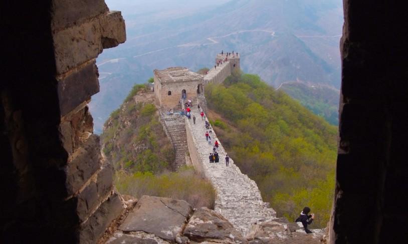 2. Den kinesiske mur - Kina