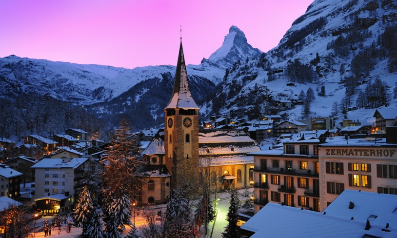 5. Zermatt, Sveits