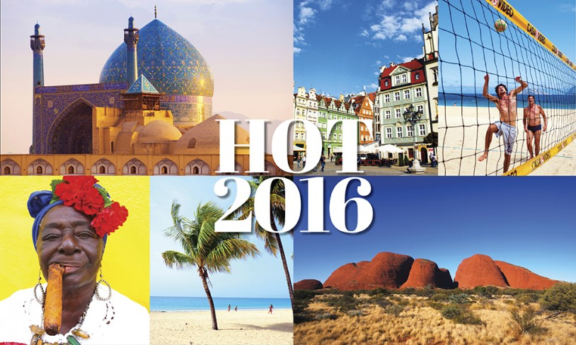 18 hotte reisemål for 2016