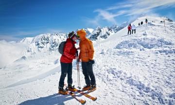 Zakopane er like spennende som Alpene, men fra toppen av Kasprowy Wierch er det gode forhold og utfordrende bakker for et par dagers skiferie. Foto: iStock
