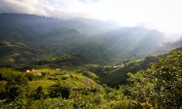 «Turister kommer til Vietnam for Halong Bay, men Sapa er noe for seg selv» Foto: Preben Danielsen