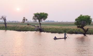 Langs hele Chobe-elven venter spennende ting som må oppleves – både fra avstand og nærme. Foto: Ronny Frimann