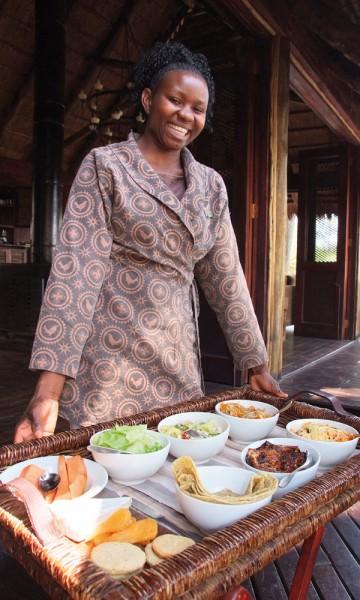 På de mange luksusresortene blir gjestene kraftig bortskjemt. Her er nydelig mat til alle døgnets tider. Foto: Torild Moland