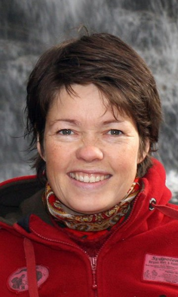 Ann Kristin Balto er testreiser for Magasinet Reiselyst i Antarktis. Foto: privat