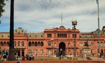 Presidentpalasset i Buenos Aires. Foto: Ann Kristin Balto