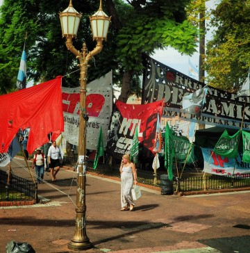 Plaza de Mayo i Buenos Aires. Foto: Ann Kristin Balto