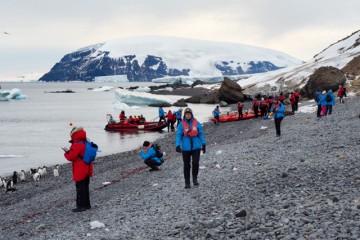 Fast grunn under føttene i Antarktis. Foto: Ann Kristin Balto