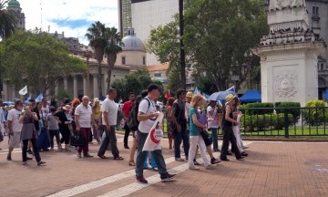 Sterkt møte med Buenos Aires og Madres de Plaza Mayo. Foto: Ann Kristin Balto / Testpanelet