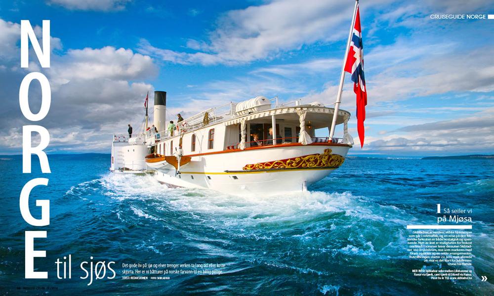 Fra Hardanger på en dag til Oslofjorden med rutebåt eller Ski & Spa i Tromsø, det er mange måter å se vårt eget land med båt på.