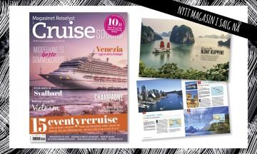 Cruise er så mangt og det finnes noe for alle – la deg inspirere av vår rykende ferske cruisespesial!