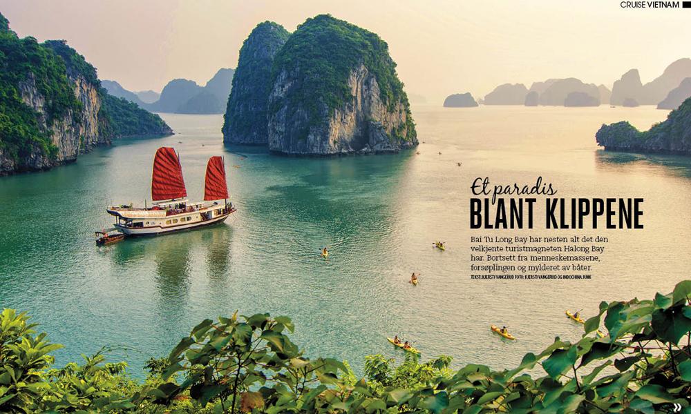 Bli med til Vietnams hemmelige cruiseparadis.