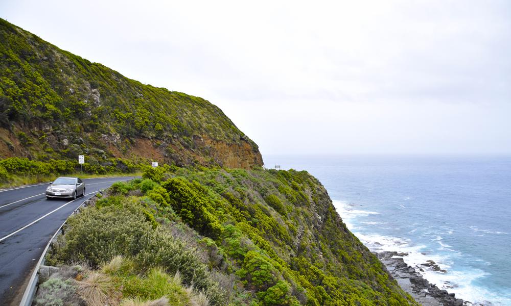 Kjøreturen langs Great Ocean Road er en Av Australias aller vakreste. Foto: Mari Bareksten