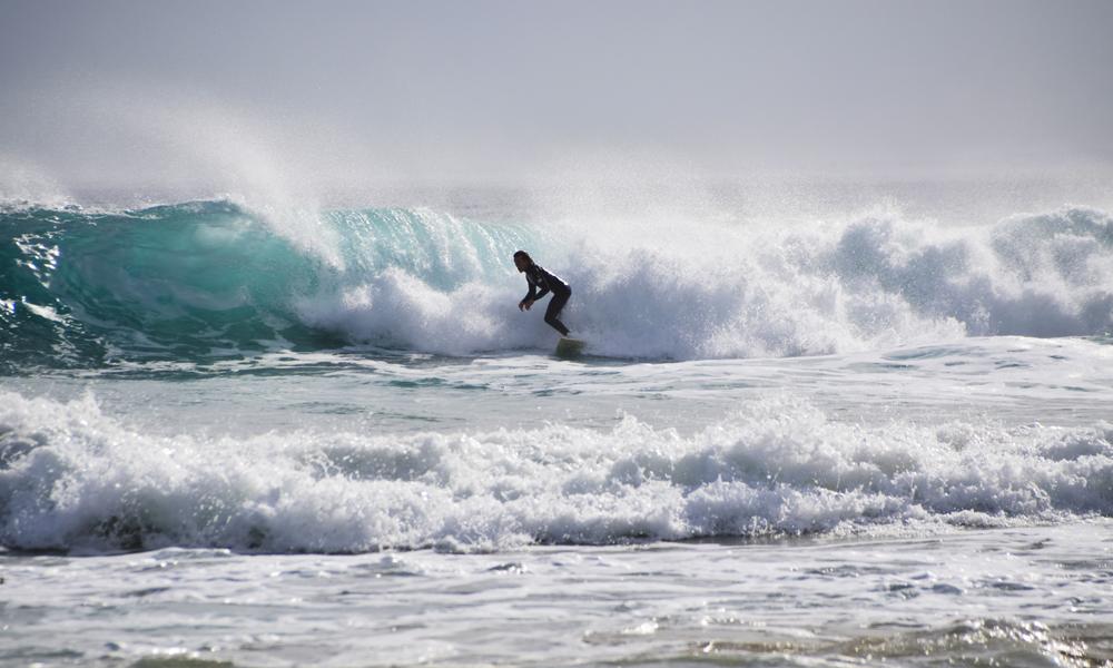 Torquay er alle surferes drøm, her ligger også et eget surfemuseum. Foto: Mari Bareksten