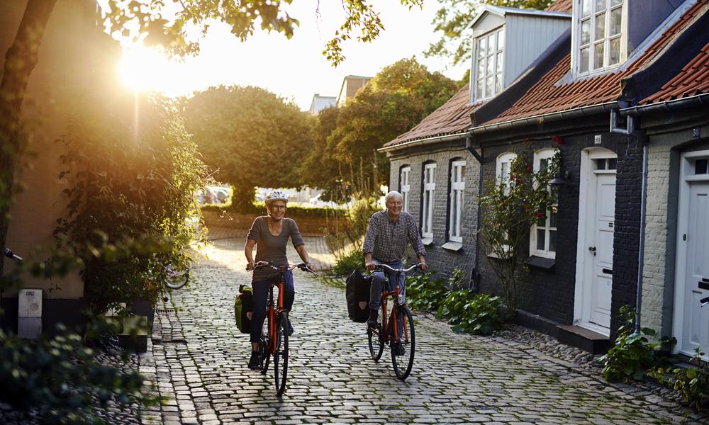 Kanskje sommeren bringer deg på sykkeltur i Danmark? Landet har ihvertfall mange flotte sykkelveier å velge mellom. Foto: Niclas Jessen