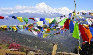 Ikke alle områder ble rammet av jordskjelvet, man kan fortsatt gå vakre fotturer i Annapurna. Foto: Mari Bareksten