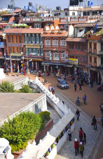 Med unntak av områdene rundt episenteret Gorkha, og byer og templer i Kathmandu-dalen var de fleste turistområdene tilbake til normalen kort tid etter. Foto: Mari Bareksten