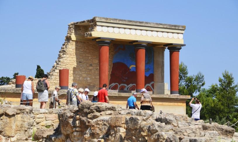8. Ruinene på Knossos