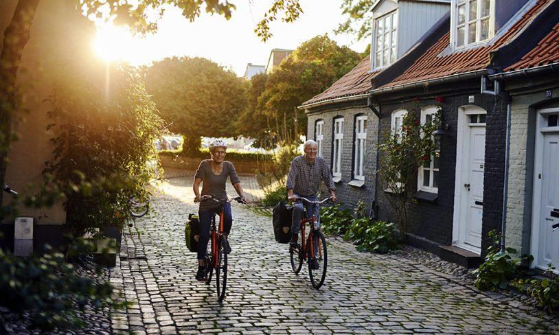 12. Danmark rundt på sykkel