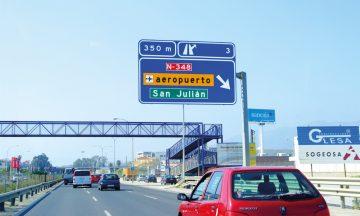 De fleste veiene nedover Europa er store og fine – og godt skiltet. Foto: Ronny Frimann