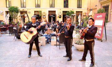 Hyggelig velkomst i Malaga. Foto: Torild Moland