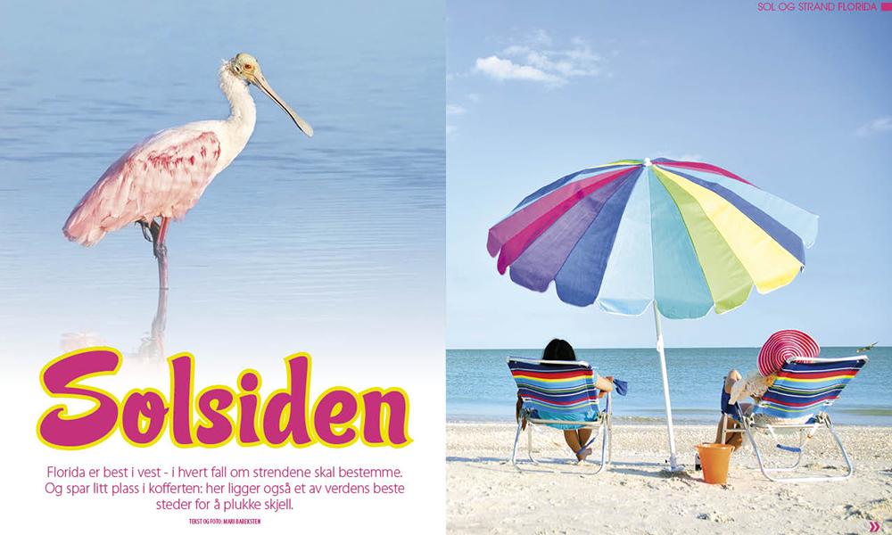 Florida er best i vest! Foto: Mari Bareksten og iStock