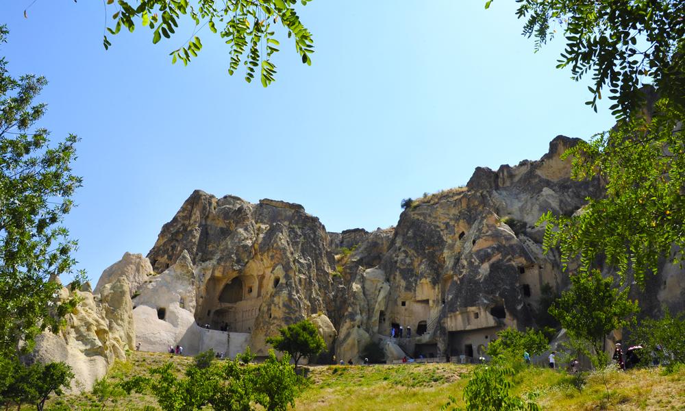 Göreme utendørsmuseum er Kappadokias største turistattraksjon, em del med 30 steinkirker og klostre. Foto: Ronny Frimann