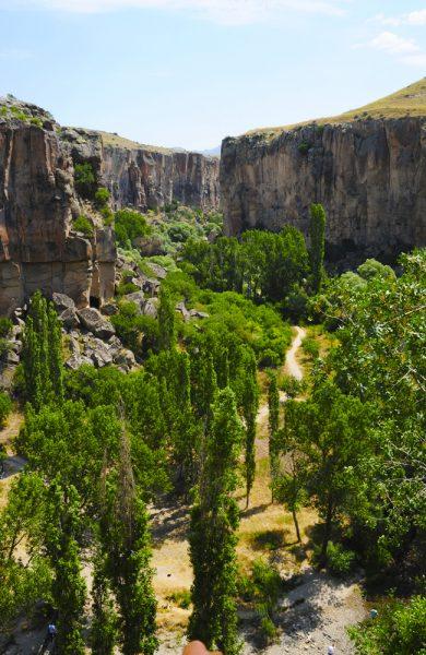 Ihlara-dalen er den mest kjente og en av de vakreste fotturene i hele Kappadokia. Foto: Ronny Frimann
