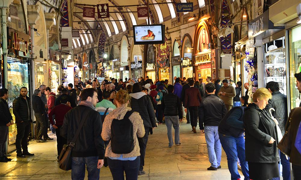Slik var det vanlig å se Grand Bazaar. Foto: Torild Moland