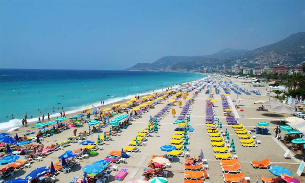 Antalya er Tyrkias desidert mest populære feriedestinasjon. Foto: Torild Moland