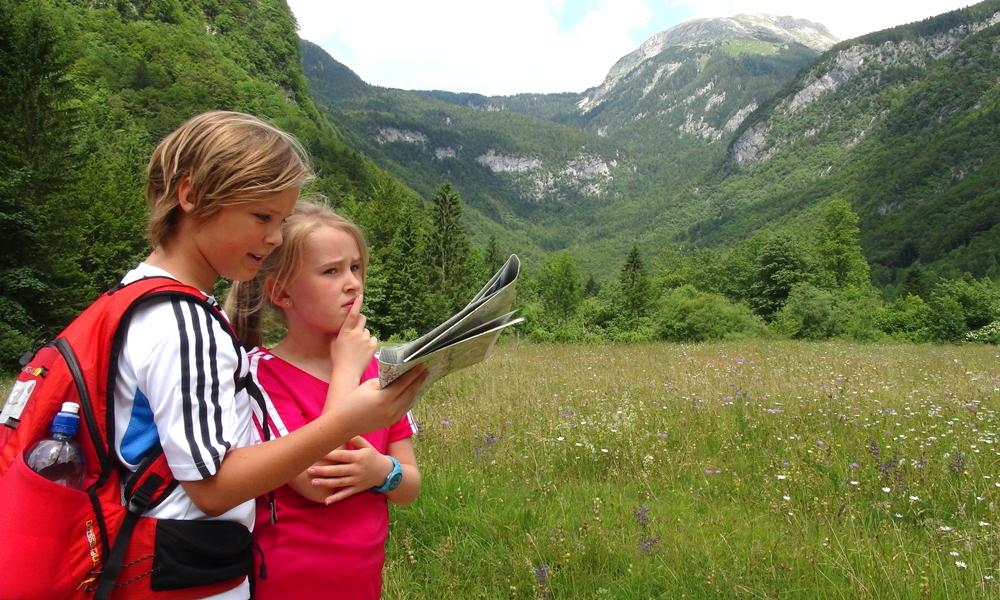 Få barna til å bidra underveis - gi dem ansvaret for kartlesingen for eksempel. Foto: Torild Moland