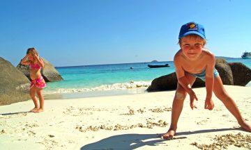 ferie med barn foto torild moland
