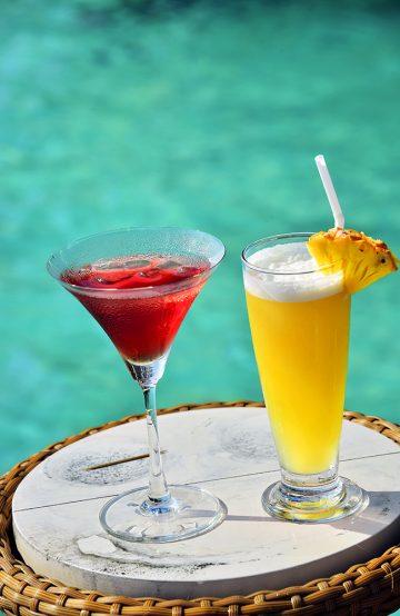 Fargerike drinker smaker nesten enda bedre når de allerede er inkludert. Foto: Torild Moland