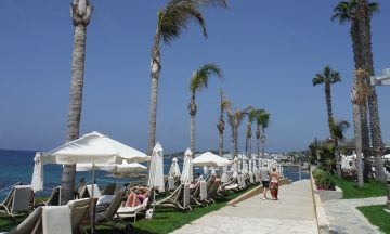 Pafos Alexander the great promenade