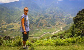 Preben Danielsen, vinneren av skrivekonkurransen 2015, vant med sin reportasje fra Sapa i Vietnam. Foto: Preben Danielsen
