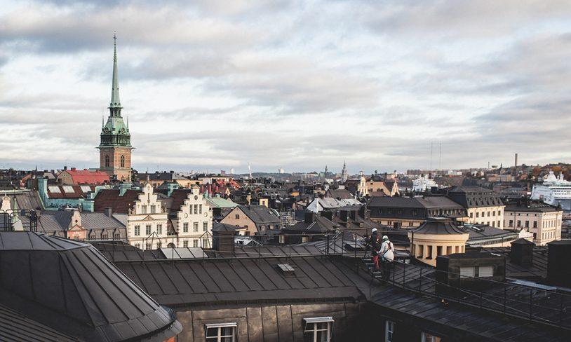 10. På Stockholms tak