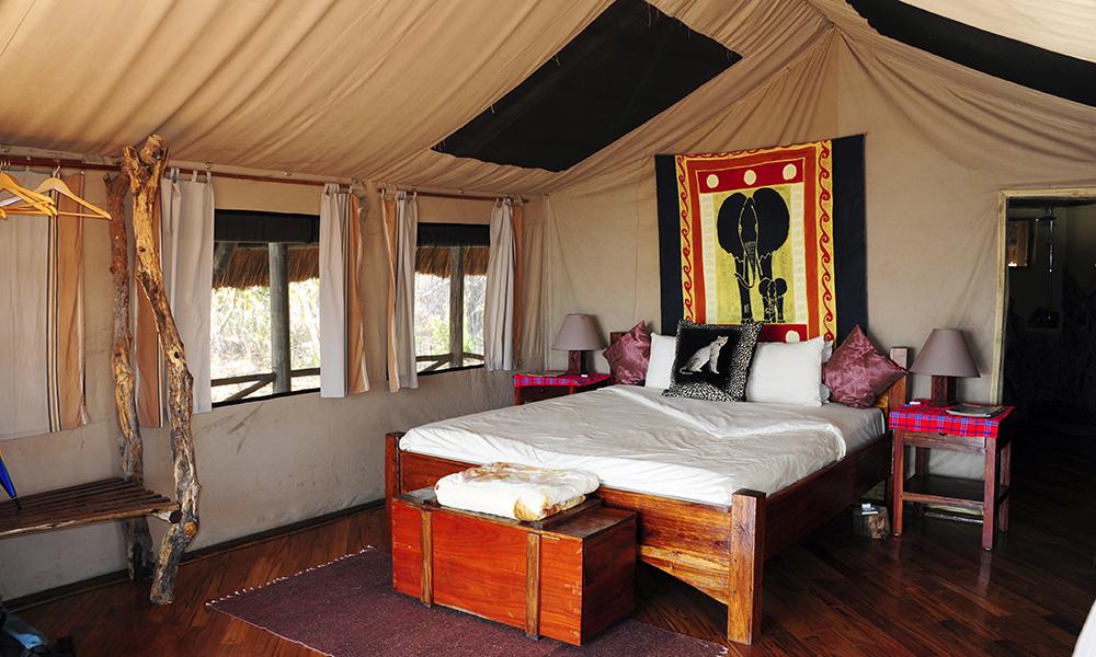 Katavi Wildlife Camp er den mest populære resorten i Katavi – og her bor du komfortabelt. Foto: Torild Moland
