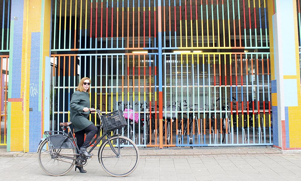 Glem Amsterdam – nå er det Rotterdam som gjelder! Og best utforskes byen på sykkel! Foto: Ida Anett Danielsen