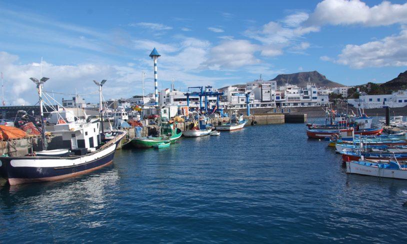 4. Puerto de las Nieves og Guds finger