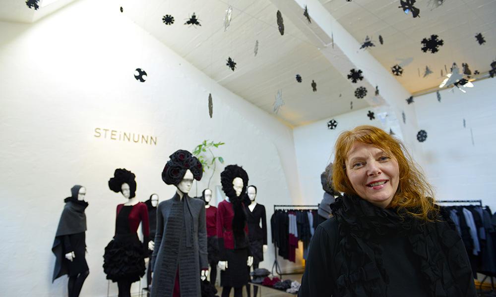 Klærne til Steinunn Sigurðardóttir eller plater i 12 tónar - byen har nok av kule butikker. Foto: Gjermund Glesnes