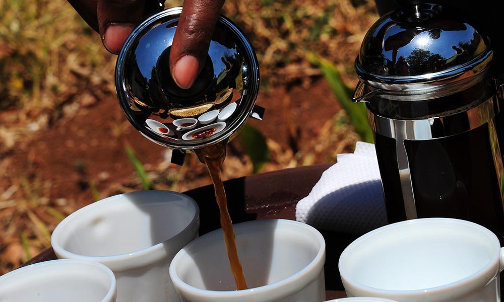 9. Kaffe Tanzania