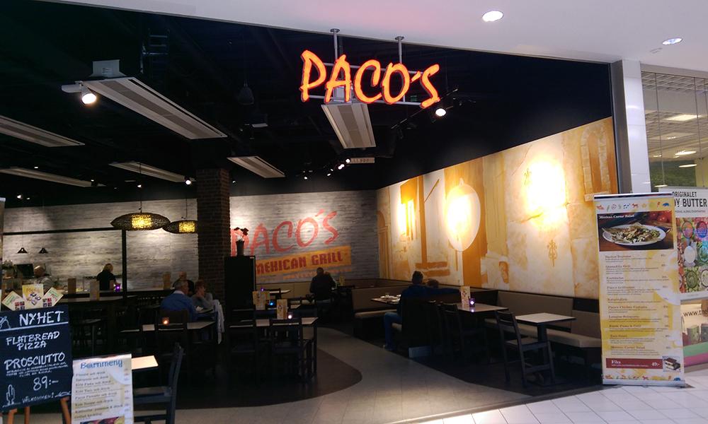Alle i familien var enige om at maten på Paco's var den beste lunsjen vi hadde spist på turen. Foto: Trude Grande Fjellbirkeland