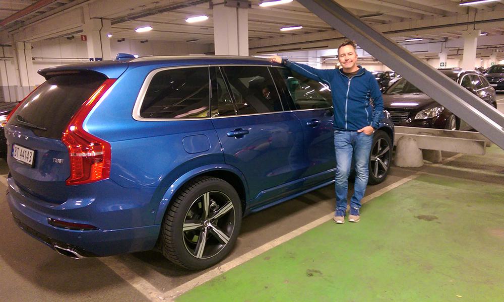 Takk til Bilia Fornebu for lånet av den flotte Volvo XC90. Det var virkelig en fryd å kjøre rundt med bilen på de svenske veiene. Foto: Trude Grande Fjellbirkeland
