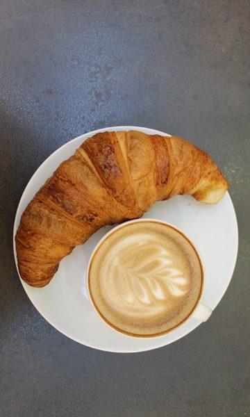 En typisk fransk helgefrokost! Foto: Ida Anett Danielsen