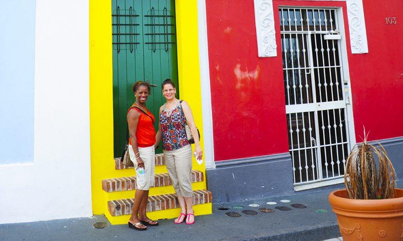 1. Gamlebyen i San Juan