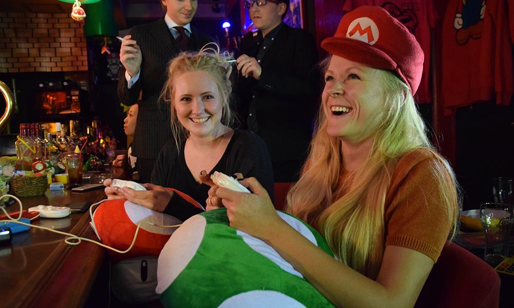 Eller hva med å dra på Super Mario-bar – i Tokyo er alt mulig! Foto: Mari Bareksten