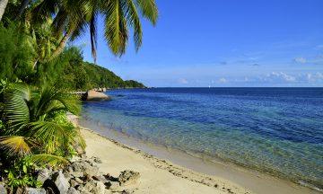 Seychellene er helt fortjent regnet som et av verdens vakreste land – her venter den ene stranda finere enn den andre. Foto: Torild Moland